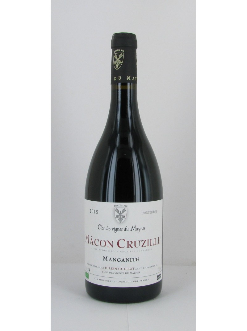 Mâcon-Cruzille Manganite 2016